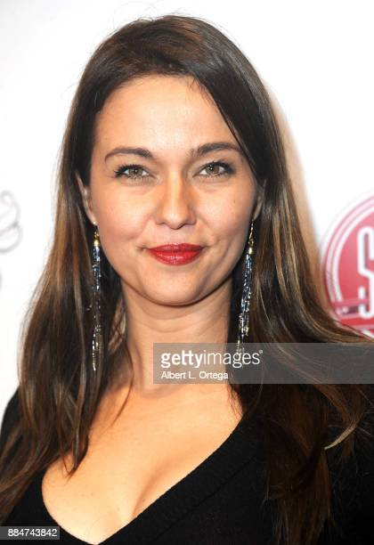 Trine Christensen arrives for the TJ Scott Book Launch For 'In The Tub Volume 2' held at Cinematic Pictures Group Gallery on December 2 2017 in...