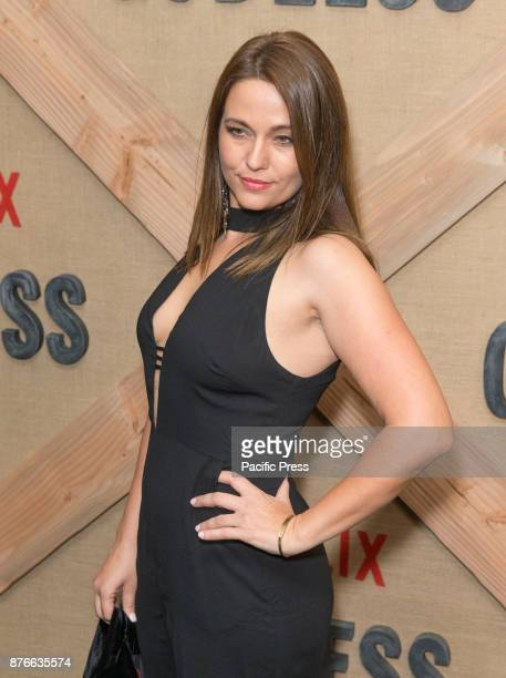 Trine Christensen attends Netflix Godless premiere at Metrograph