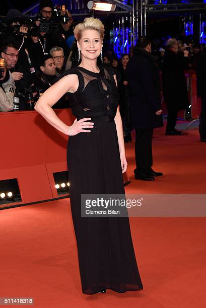 Trine Dyrholm attends the closing ceremony of the 66th Berlinale International Film Festival on February 20 2016 in Berlin Germany