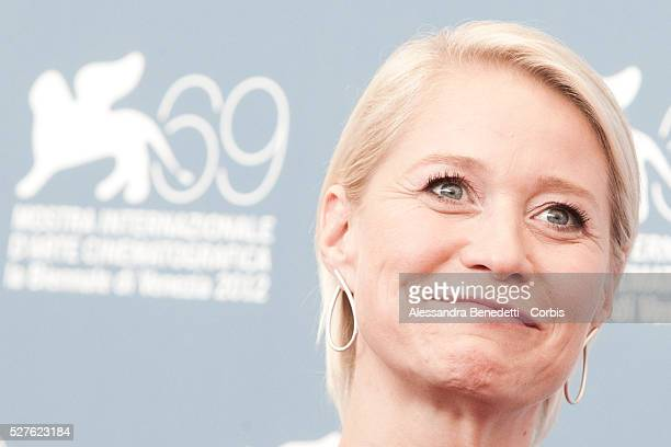 Trine Dyrholm attends the photocall of movie Love is all you need presented in competition at the 69th Venice Film Festival