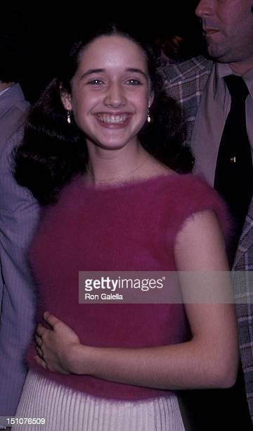 Trini Alvarado attends the premiere of Times Square on October 14 1980 at the Ziegfeld Theater in New York City