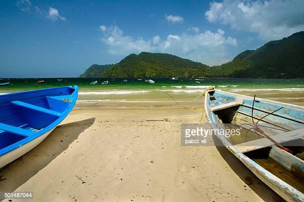 barcos maracas - paisajes de trinidad tobago fotografías e imágenes de stock