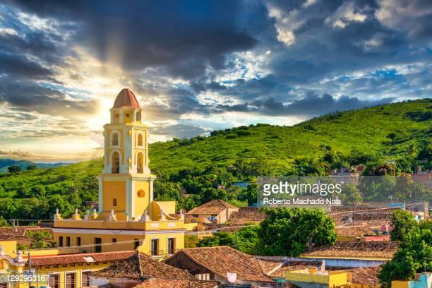 trinidad, cuba, digital enhancement - cuba stock pictures, royalty-free photos & images
