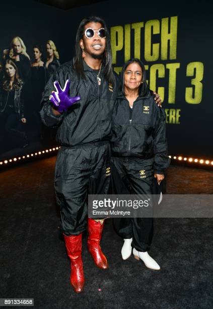Trinidad James attends the premiere of Universal Pictures' 'Pitch Perfect 3' at Dolby Theatre on December 12 2017 in Hollywood California