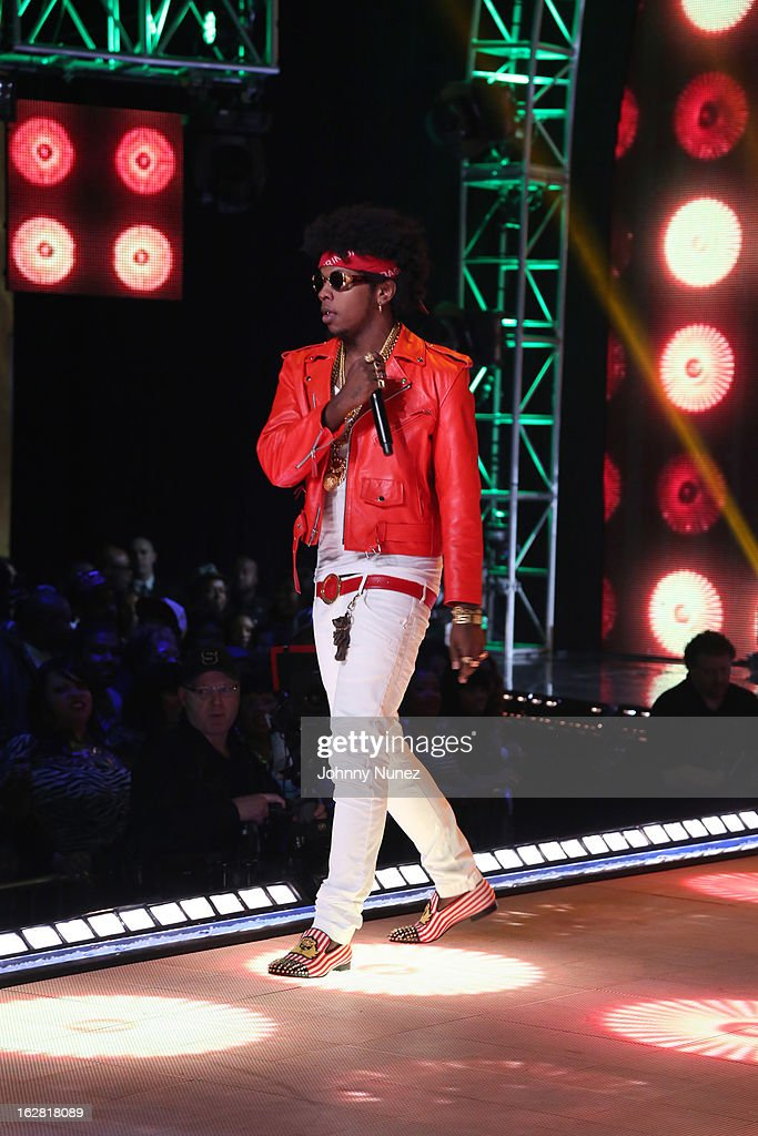 Trinidad James performs during BET's Rip The Runway 2013 at Hammerstein Ballroom on February 27, 2013, in New York City.