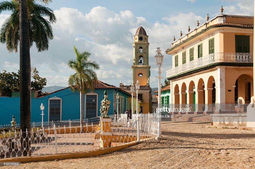 Museo Romantico.Trinidad Plaza Mayor With Museo Romantico Stock Photo Getty Images