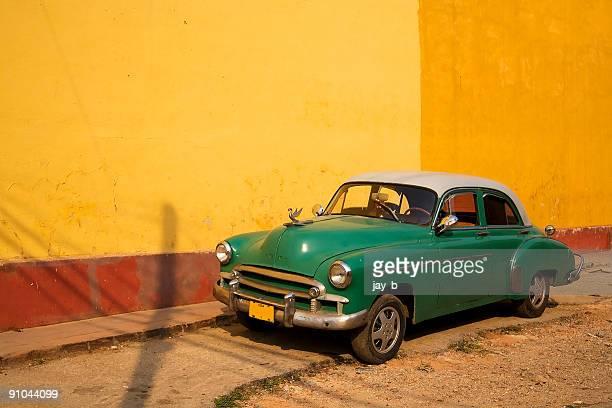 trinidad vintage car - trinidad and tobago stock pictures, royalty-free photos & images