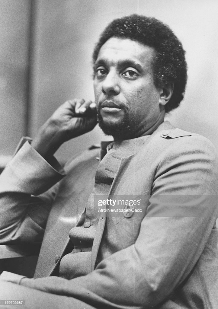 Stokely Carmichael At Morgan State University : News Photo
