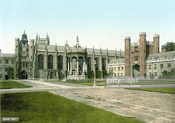 Trinity College Cambridge University Cambridge England 1890