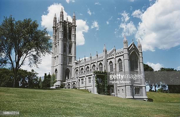 Trinity College Chapel Hartford Connecticut circa 1962