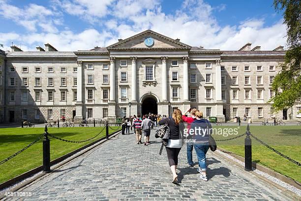 trinity college - dublin república da irlanda - fotografias e filmes do acervo
