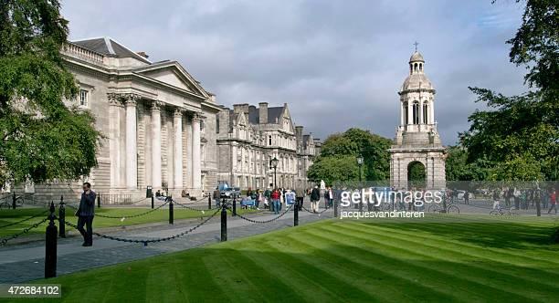 trinity college, em dublin (irlanda) - dublin república da irlanda - fotografias e filmes do acervo