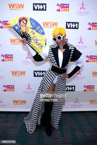 Trinity K Bonet attends the 4th Annual RuPaul's DragCon at Los Angeles Convention Center on May 13 2018 in Los Angeles California