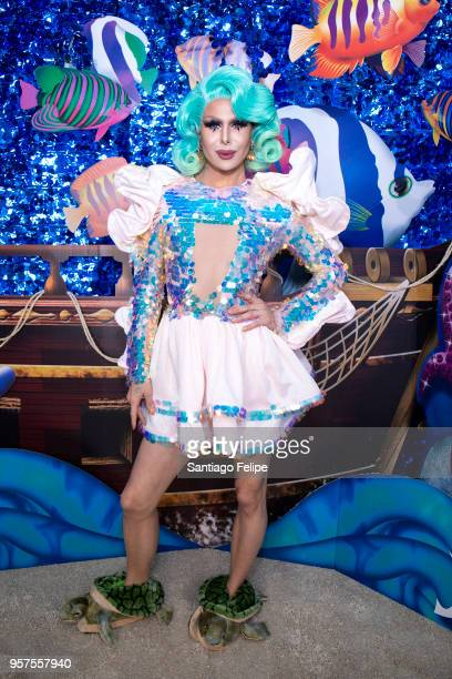 Trinity Taylor attends the 4th Annual RuPaul's DragCon at Los Angeles Convention Center on May 11 2018 in Los Angeles California