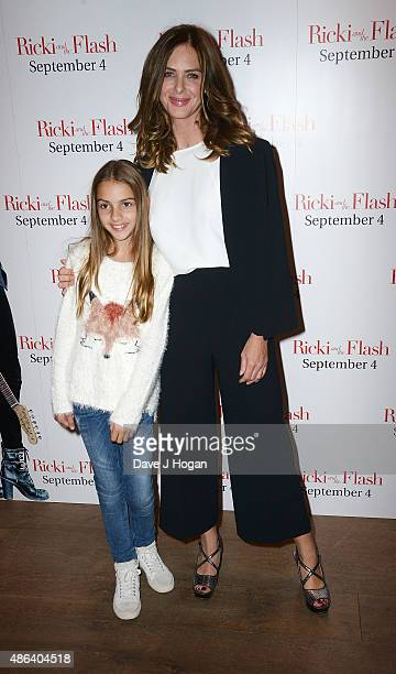 Trinny Woodall and her daughter Lyla Elichaoff attend the Screening Gala of Ricki and The Flash at Ham Yard Hotel on September 3 2015 in London...