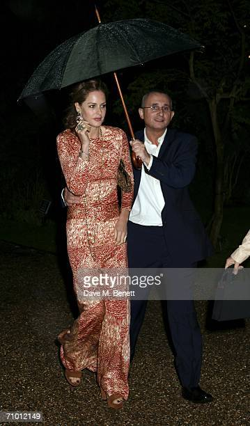 Trinny Woodall and Johnny Elichaoff attend the Cartier dinner party hosted by the managing director of Cariter Arnaud Bamberger at the Chelsea Physic...