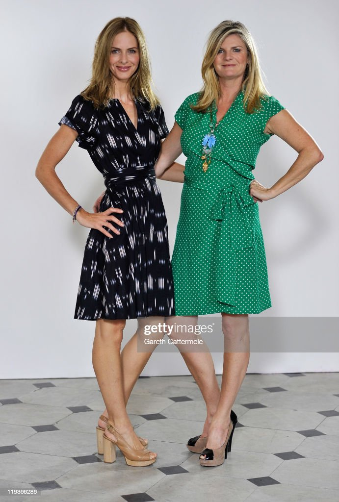 EXCLUSIVE: Trinny & Susannah Video Shoot For Their Original Magic Knickers Range