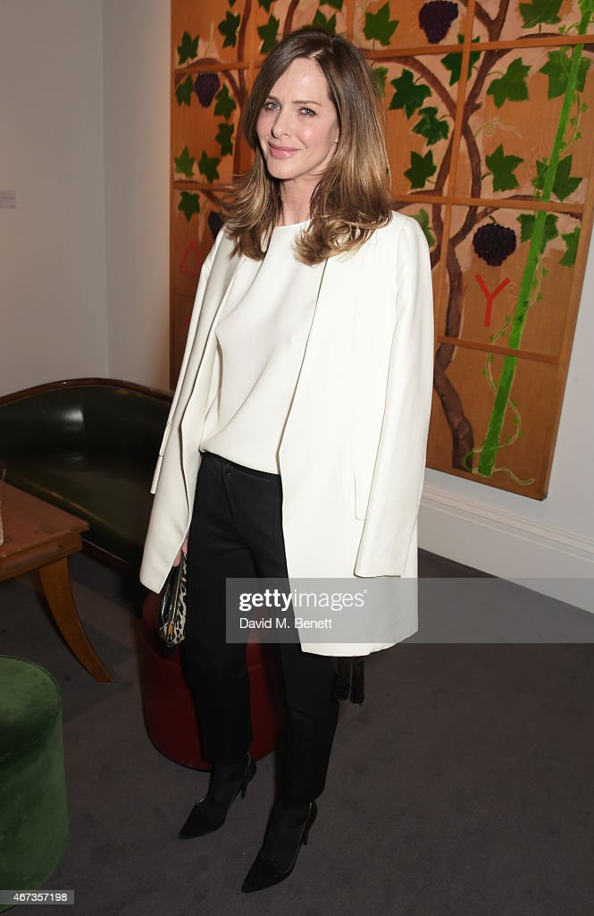 VIP Guests Attend A Preview Party For The Ivy Auction At Sotheby's