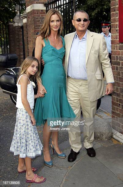 Trinny Woodall Johnny Elichaoff Attend The Conservative Party Summer Party At The Royal Hospital Chelsea