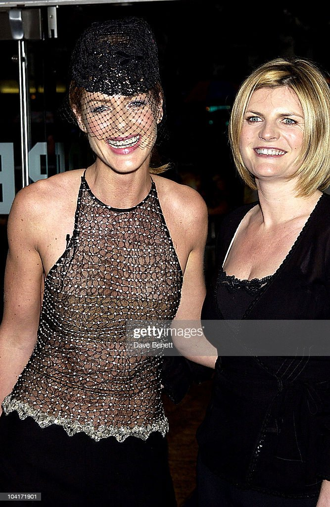 Trinny Woodall & Suzannah Constantine, 'Spiderman' Movie Premiere, At The Odeon Leicester Square, London