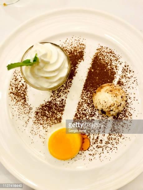 Trio of Andean desserts