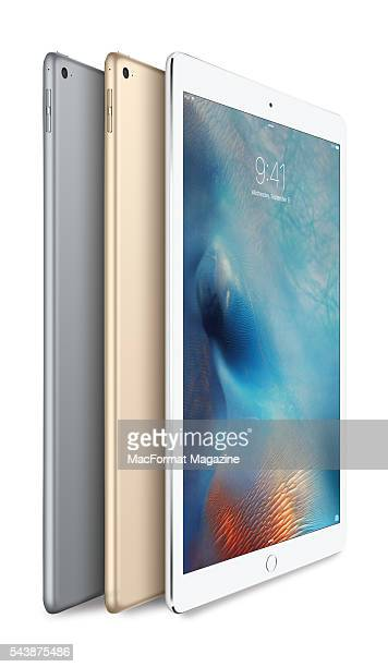 A trio of Apple iPad Pro tablet devices taken on October 12 2015