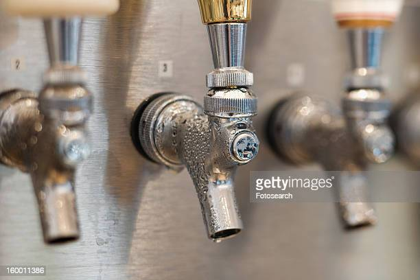 Trio of Beer Tap Spouts