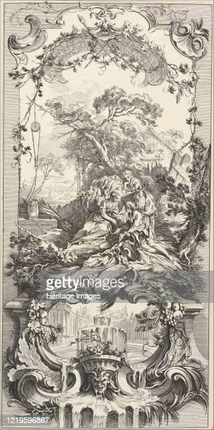 Triomphe de Pomone , 18th century. After François Boucher. Artist Charles Nicolas Cochin.