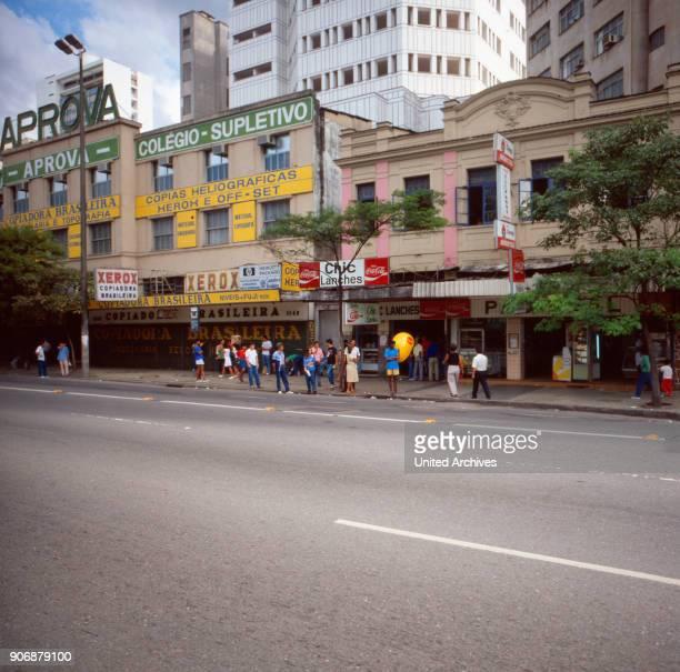 A trip to Belo Horizonte Brazil 1980s