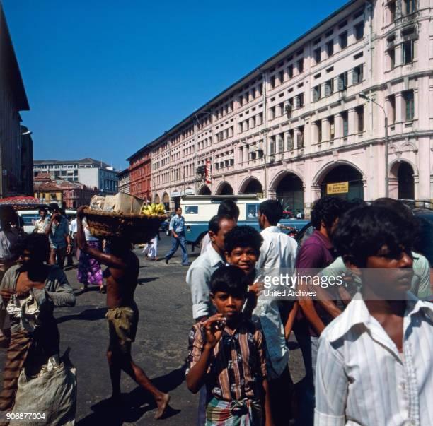 A trip to Colombo Sri Lanka 1980s