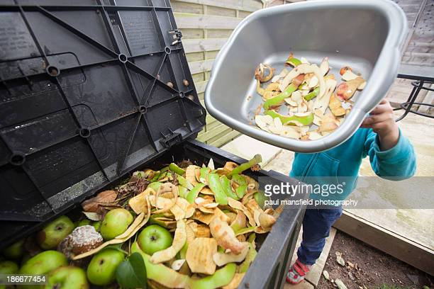Trip to compost bin
