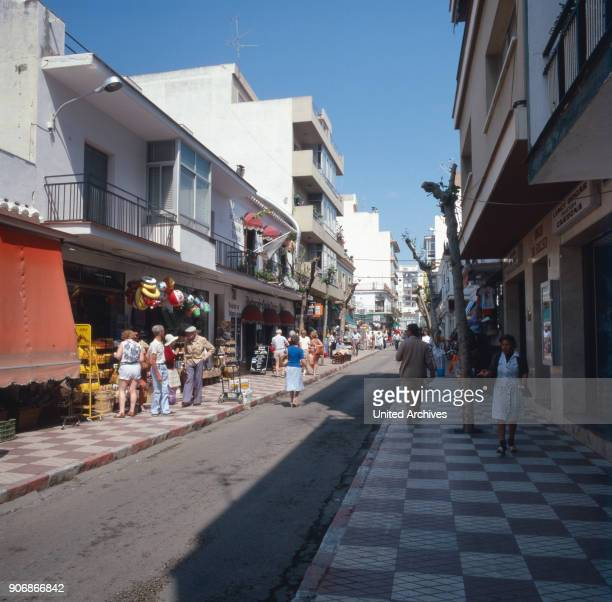 A trip to Fuengirola at the Costa del Sol Andalusia Spain 1980s