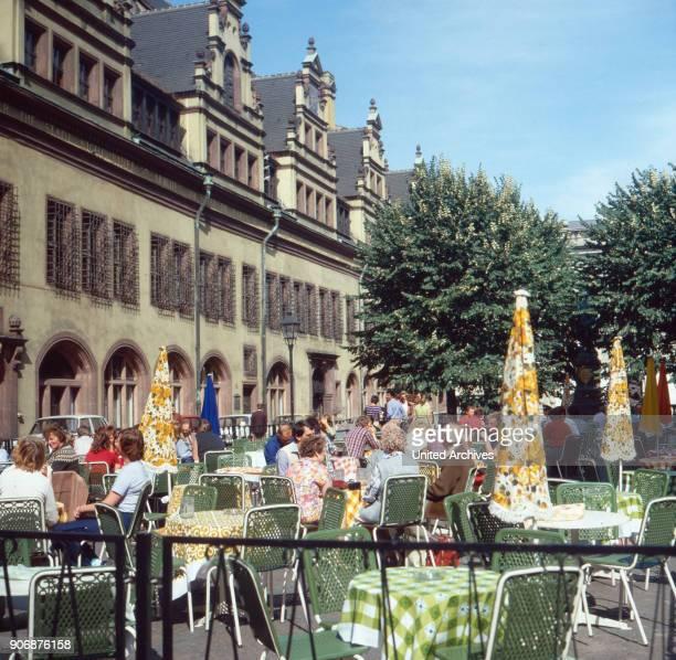 Trip to Leipzig, Saxony, DDR 1980s.