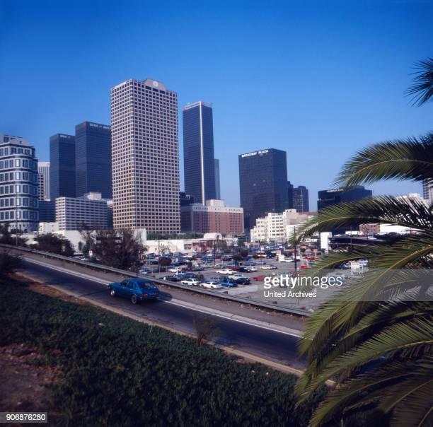 Trip to Los Angeles, Calofornia, USA 1980s.