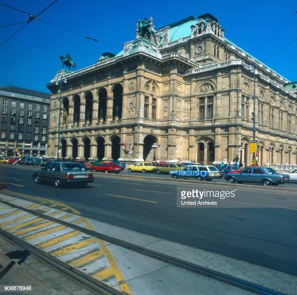 A trip to Vienna Austria 1980s