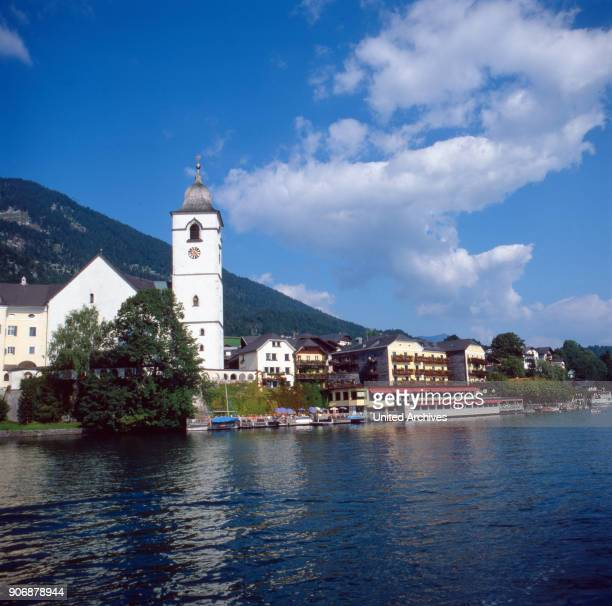 A trip to Wolfgangsee Province of Salzburg Austria 1980s