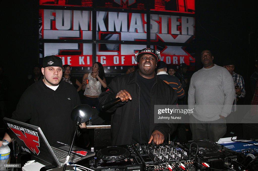 DJ Triple Threat and TV and radio personality DJ Funkmaster