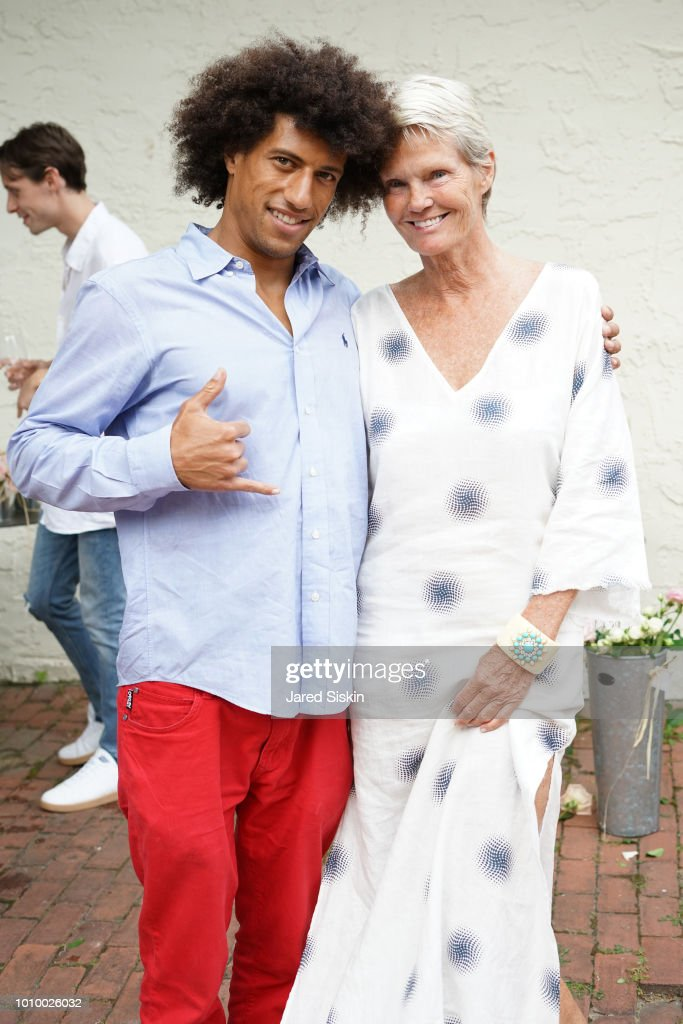 Tripoli Patterson and Betsy Berry attend Harper's BAZAAR X Sam Edelman Mid-Summer Hamptons Event on August 2, 2018 in Southampton, New York.