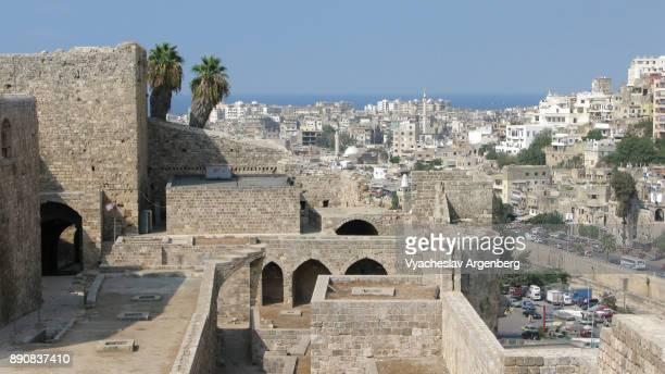 tripopli citadel (qala'at sanji) - argenberg stock pictures, royalty-free photos & images