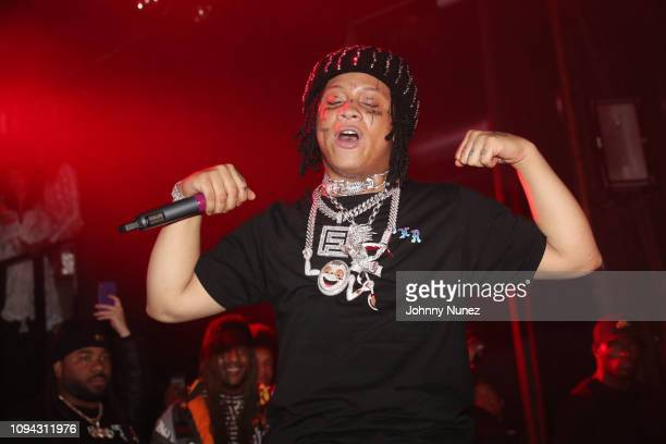 Trippie Redd performs at Irving Plaza on February 5 2019 in New York City