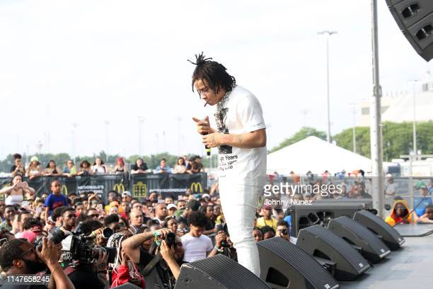 Trippie Redd performs during Summer Jam 2019 at MetLife Stadium on June 2 2019 in East Rutherford New Jersey