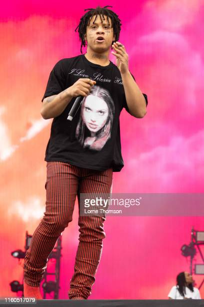 Trippie Redd performs on stage during Wireless Festival 2019 on July 06 2019 in London England