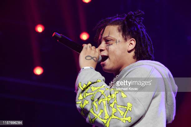 Trippie Redd performs onstage at the STAPLES Center Concert Sponsored By Sprite during BET Experience at Staples Center on June 22 2019 in Los...