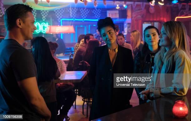 TYPE 'Trippin' Episode 209 Pictured Billy Magnussen as Billy Jeffries Aisha Dee as Kat Edison Katie Stevens as Jane Sloan Meghann Fahy as Sutton Brady