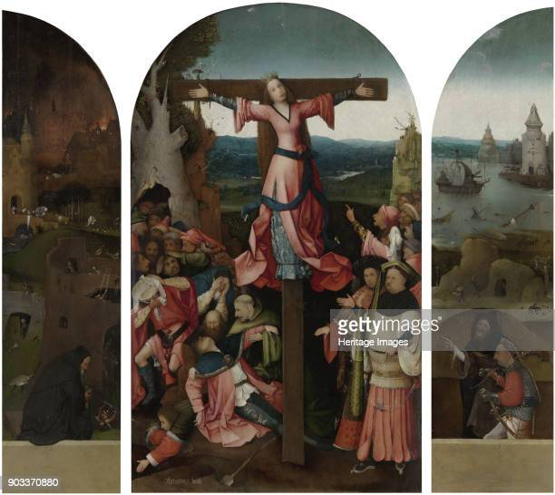 Triptych of the Martyrdom of Saint Liberata Found in the Collection of Palazzo Ducale Venice
