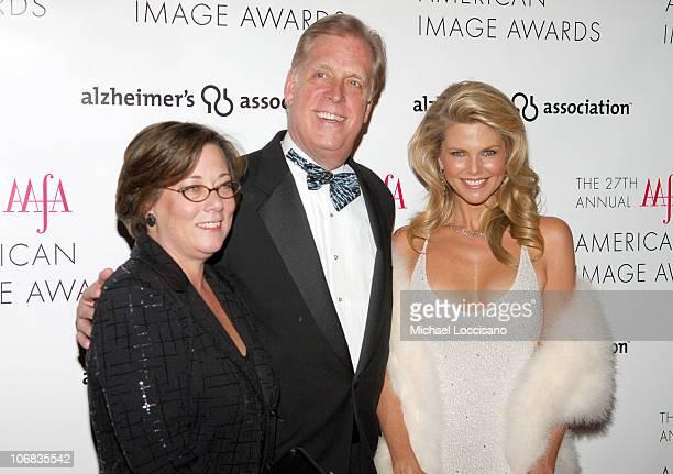 Trish Adams Target Senior Vice President Paul Charron Chairman and CEO of Liz Claiborne and Christie Brinkley