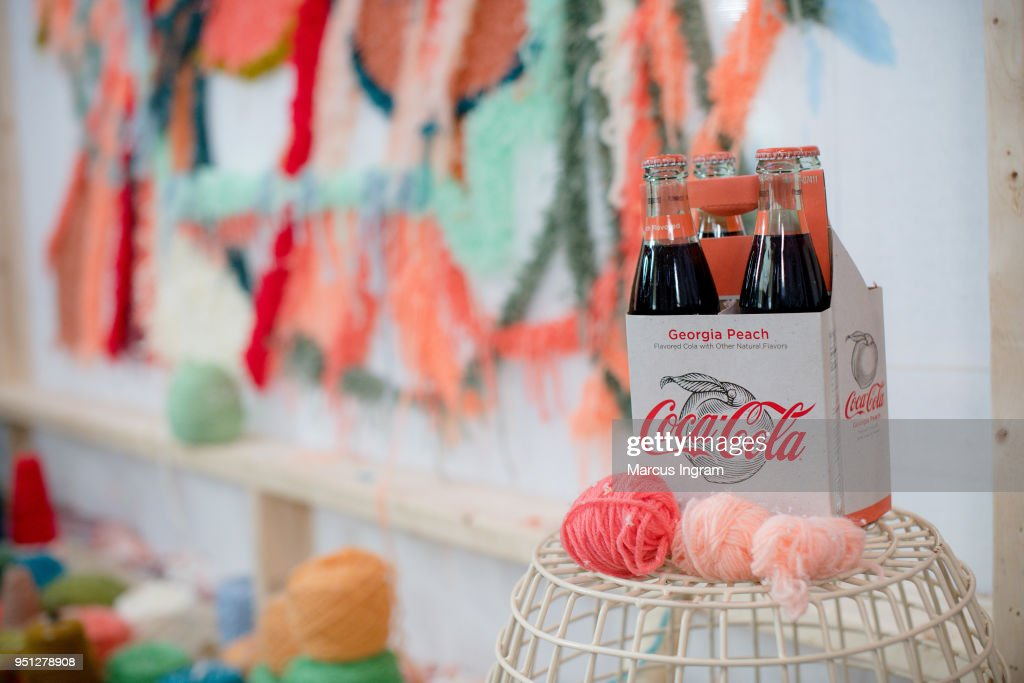 """Coca-Cola® Partners with local artists to launch specially crafted beverage, Coca-Cola Georgia Peach"""