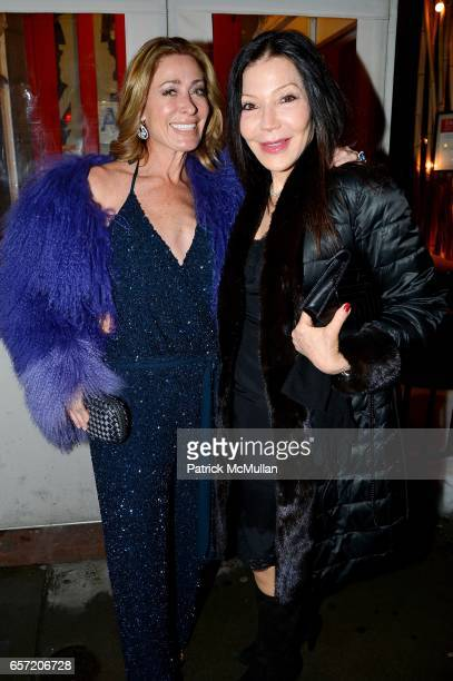 Trish Backal and Jane Scher attend Jean Shafiroff hosts Surprise Party for Patrick McMullan at 49 West 20th Street on March 17 2017 in New York City