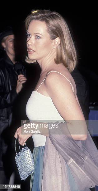 Trish Bergin attends Rainforest Foundation Benefit Concert Party on April 13 2000 at Carnegie Hall in New York City