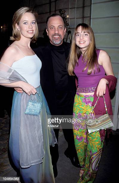 Trish Bergin Billy Joel and Alexa Ray Joel during The 10th Annual Rainforest Foundation Benefit Concert at Carnegie Hall in New York City New York...